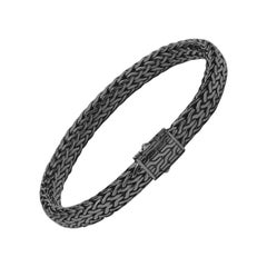 John Hardy Men's Classic Chain Silver Bracelet BM92669MBRDXM