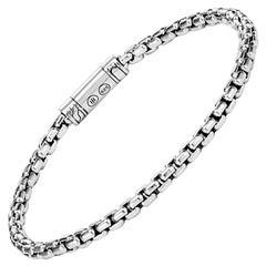 John Hardy Men's Silver Box Chain Bracelet, BM90264XM