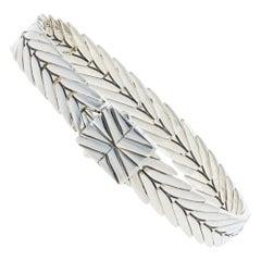 John Hardy Modern Chain Bracelet Sterling Silver Women's Designer