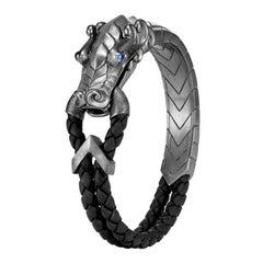 John Hardy Naga Blackened Bracelet BMS65115259BRDBL