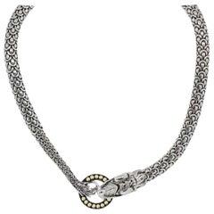 John Hardy Naga Dragon Choker Necklace