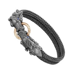 John Hardy Naga Station Blackened Bracelet BMS60212OZBRDXM
