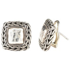 John Hardy Palu Sterling Silver Stud Earrings
