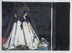 """""""Bride"""", Lithograph by John Hardy"""