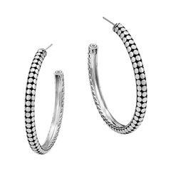 John Hardy Small Hoop Earring EB3907