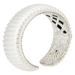 John Hardy Sterling Silver Bedeg Kick Cuff Bracelet