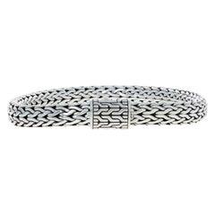 John Hardy Sterling Silver Bracelet, 925 Men's Classic Chain