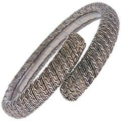 John Hardy Sterling Silver Bypass Bracelet