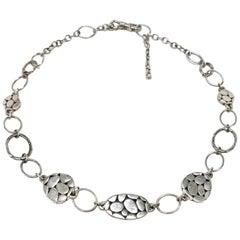 John Hardy Sterling Silver Kali Menari Necklace