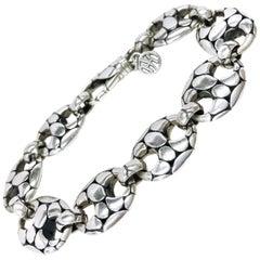 John Hardy Sterling Silver Kali Pebble Bracelet