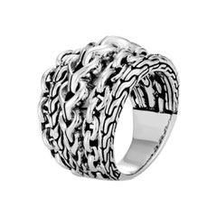 John Hardy Women's Asli Classic Chain Link Ring RB90378X7