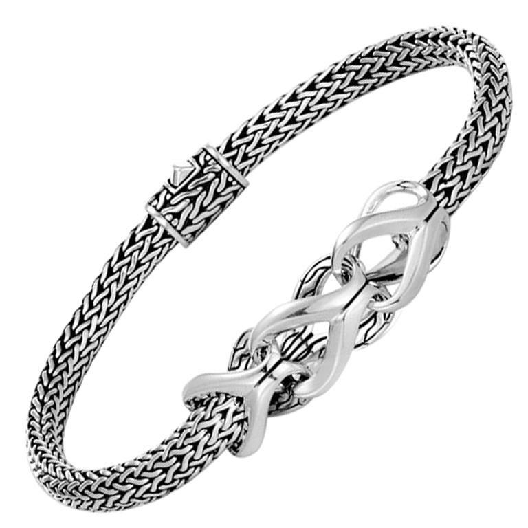 John Hardy Women s Chain Link Silver Extra-Small Bracelet 1a7d75e436