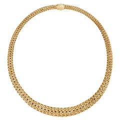 John Hardy Women's Classic Chain 18 Karat Gold Necklace, NG93299X18