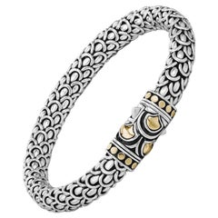 John Hardy Women's Legends Naga Gold and Silver Medium Bracelet, BZ65152XM