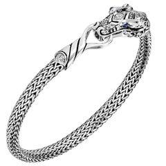 John Hardy Women's Silver Diamond Bracelet, BBP601332BSPDIXM