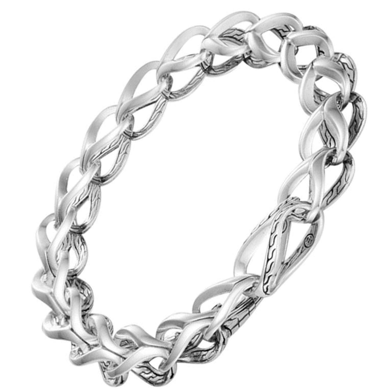 600dbfbadded8 John Hardy Women's Silver Link Bracelet, BB90010XM