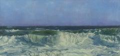 """""""Ocean I,"""" Coastal Oil Painting"""