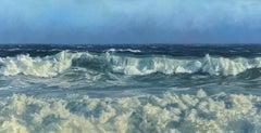 """""""Oceanic,"""" Coastal Oil Painting"""