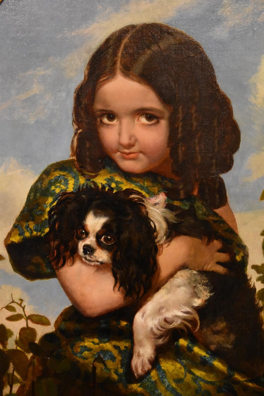 """Best of Friends"" Oil Painting by John Harris"