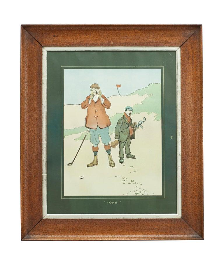 Sporting Art John Hassall Golf Prints For Sale