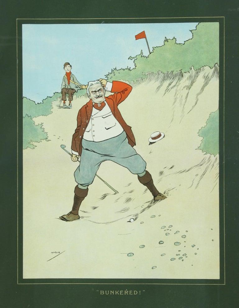 English John Hassall Golf Prints For Sale