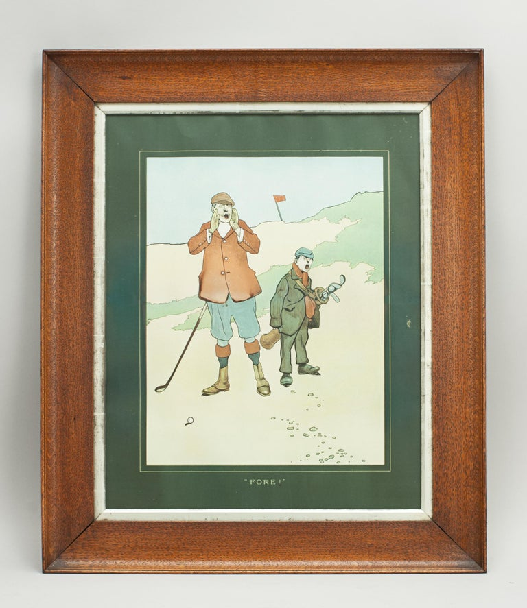 John Hassall Golf Prints For Sale 1