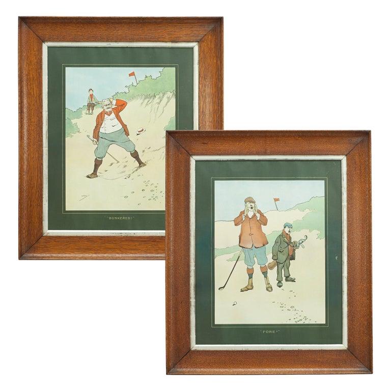 John Hassall Golf Prints For Sale