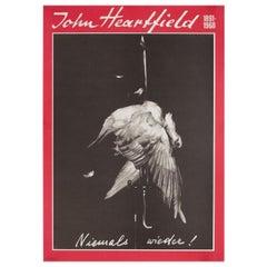 John Heartfield 1891-1968 1997 East German A2 Exhibition Poster