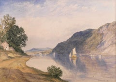 In the Hudson Highlands by John Henry Hill (American, 1839-1922)