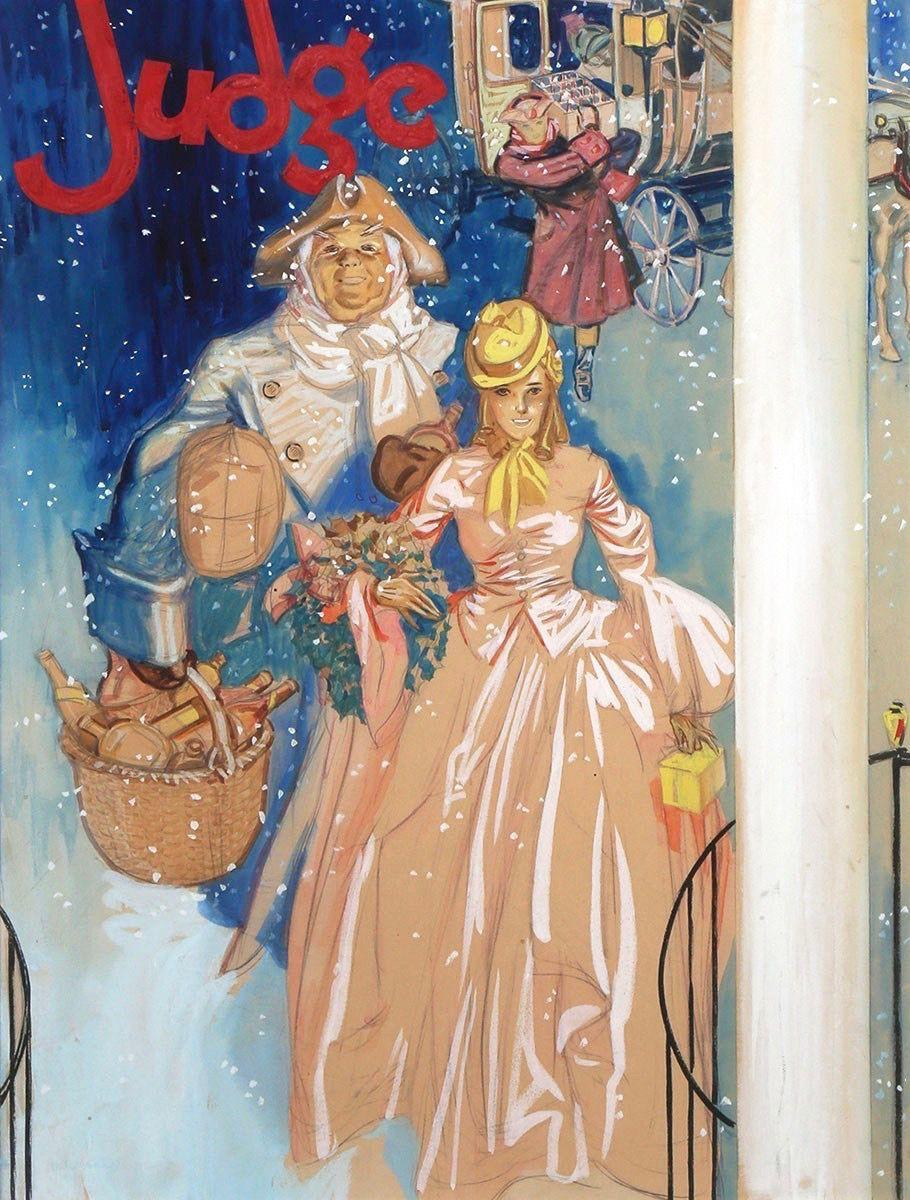 A Christmas Number,  Judge Magazine Cover