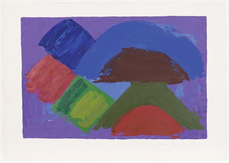 John Hoyland Abstract Painting - Untitled 12