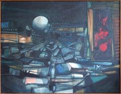 John Hultberg, Sphere, oil on canvas, 1956