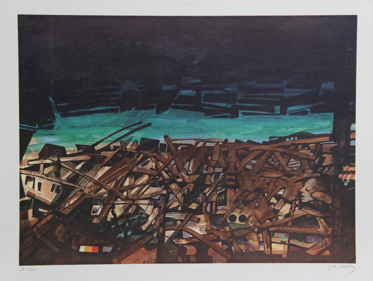 John Hultberg Abstract Print - Guatemala