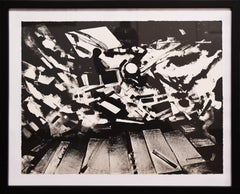 John Hultberg, Arrival by Storm, lithograph, 1950s