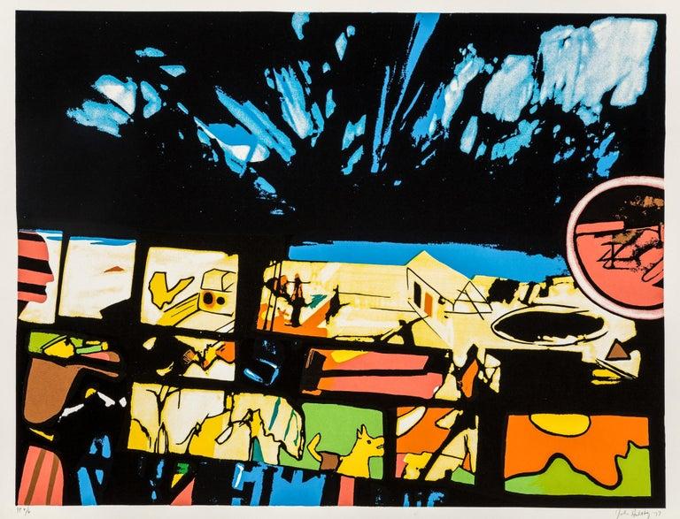 "John Hultberg ""Fragments of a Dream"", limited edition screen print - Print by John Hultberg"