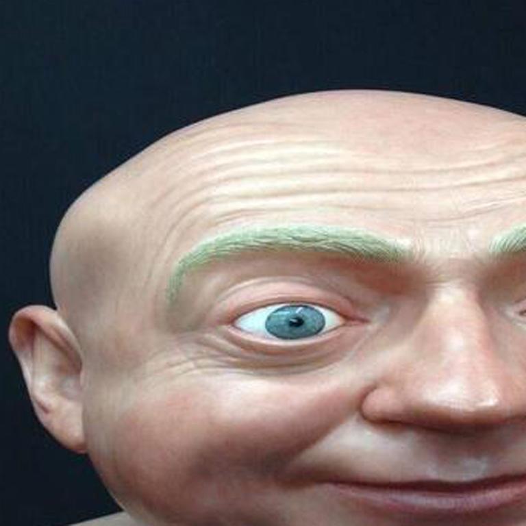 John Humphreys (Self Portrait) - Contemporary Sculpture by John Humphreys