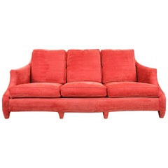 """John Hutton for Donghia """"Ogee"""" Sofa, Corded Chenille Upholstery"""