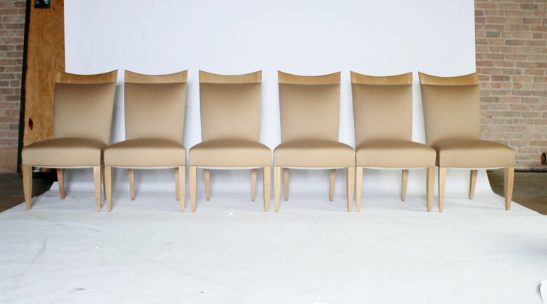 John Hutton for Donghia Set of 8 Dining Chairs In Excellent Condition For Sale In Chicago, IL