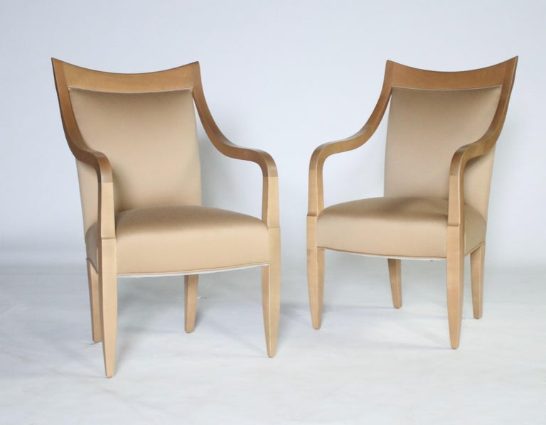 Late 20th Century John Hutton for Donghia Set of 8 Dining Chairs For Sale