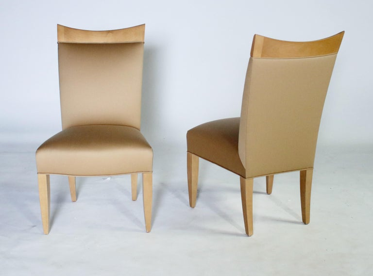 John Hutton for Donghia Set of 8 Dining Chairs For Sale 2