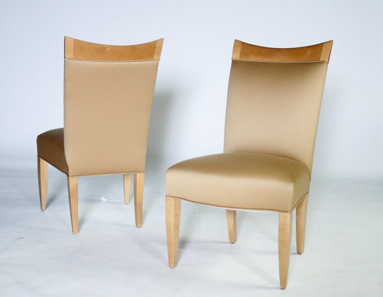 John Hutton for Donghia Set of 8 Dining Chairs For Sale 4