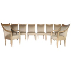 John Hutton for Donghia Set of 8 Dining Chairs