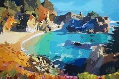 Coastal Impressions - The Falls, Original Painting
