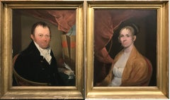 Portraits of John Davis Williams & Hannah Weld Williams of Boston, MA