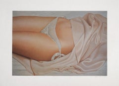 JOHN KACERE Limited edition Photolithograph American Hyperrealism, Erotic, Nudes