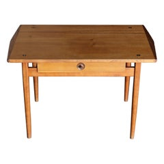 John Kapel Handcrafted Side / Entry Table, circa 1956