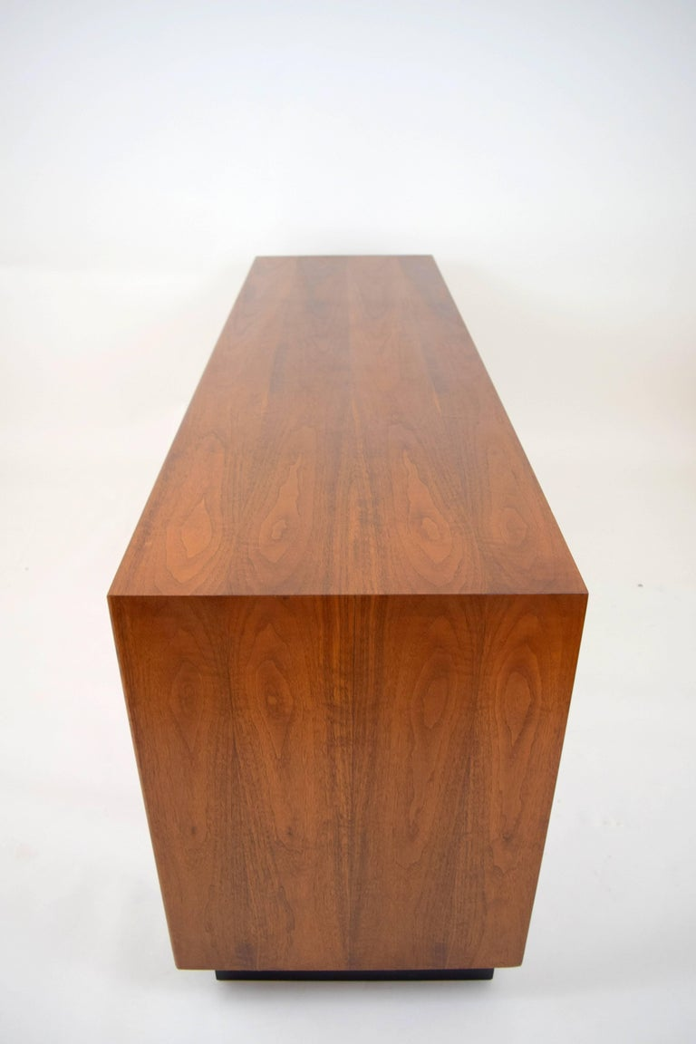 Mid-Century Modern John Kapel Walnut Credenza for Glenn of California For Sale