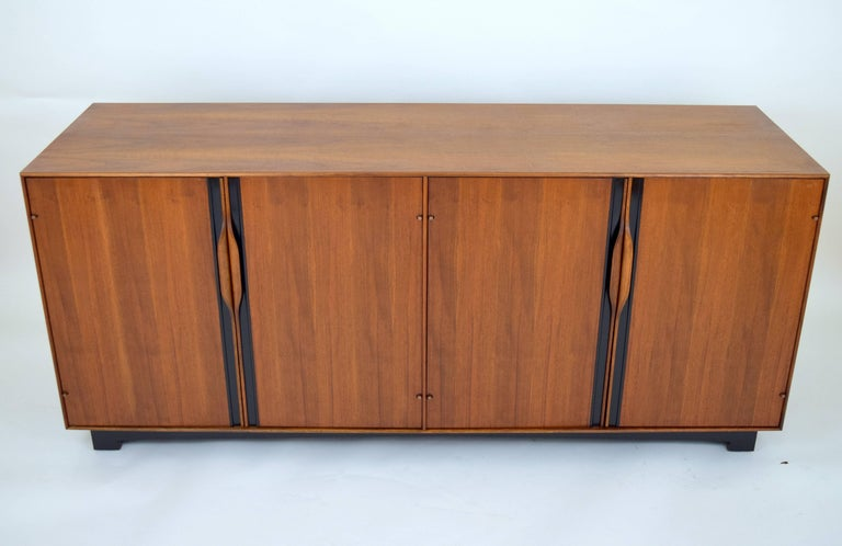 John Kapel Walnut Credenza for Glenn of California For Sale 3