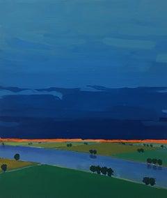 Primary Landscape (Blue)