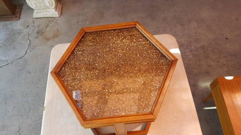 Mid-Century Modern John Keal End Table For Sale